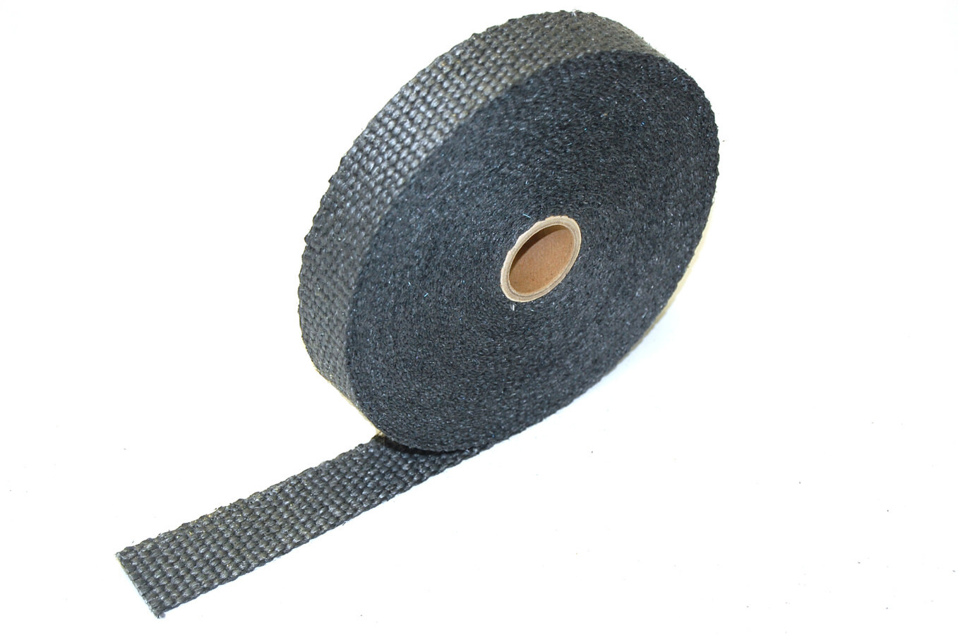 1in x 50'Exhaust Wrap Black Glass