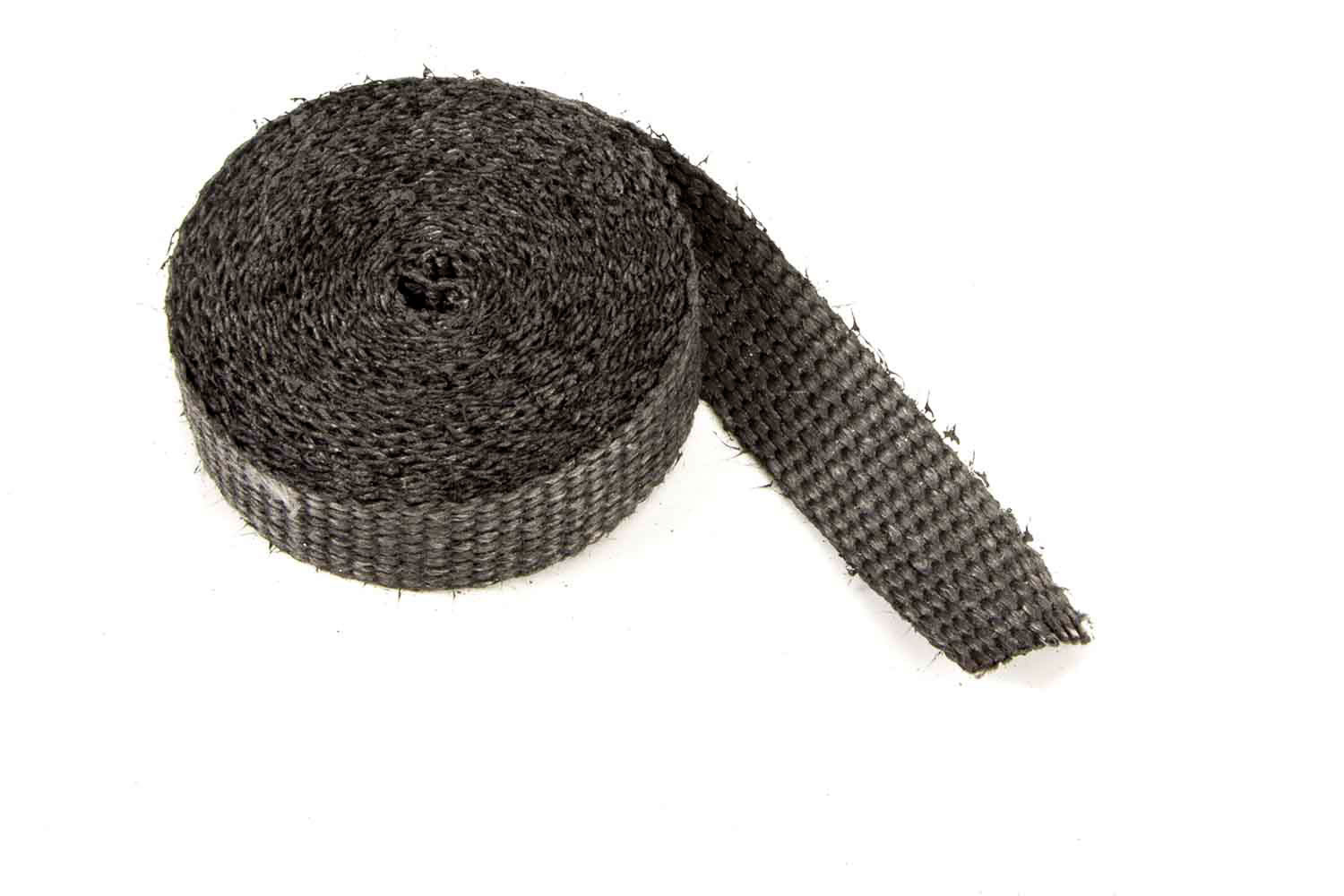 1in x 15' Exhaust Wrap Black Glass