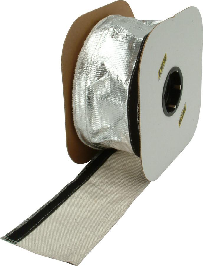 Heat Shroud - 2-1/2in x 3ft - Aluminized Sleevin