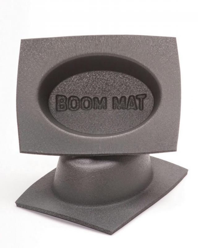Boom Mat Speaker Baffles 4in x 6in Oval Pair