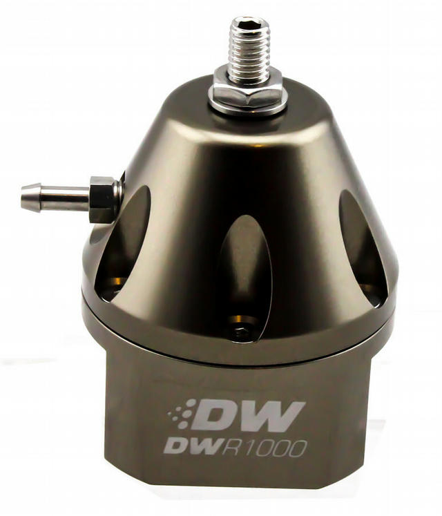 Fuel Pressure Regulator Adj. Titanium Finish