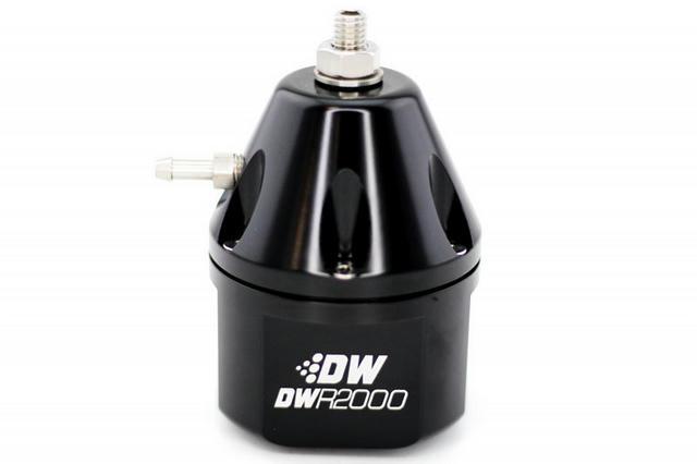 DWR2000 Adj Fuel Press Regulator 10an/8an