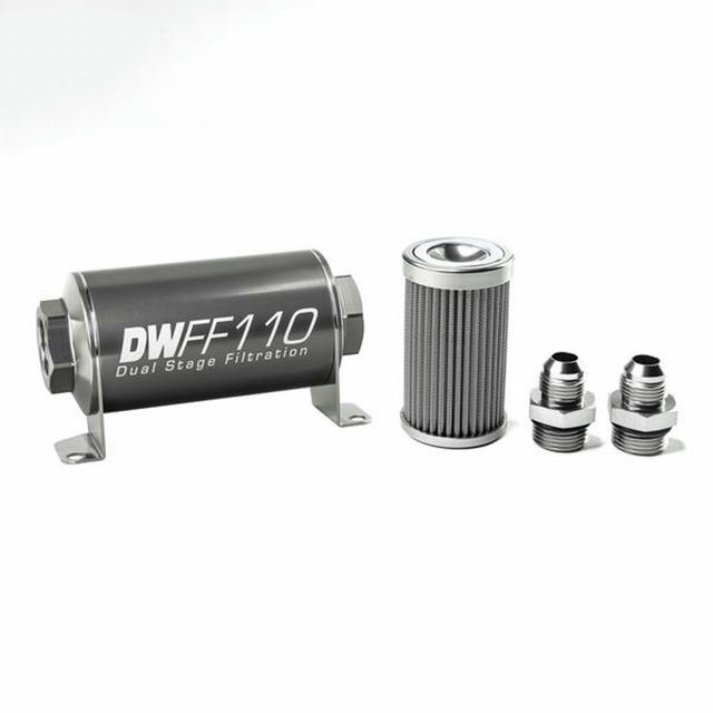 In-line Fuel Filter Kit 8an 100-Micron