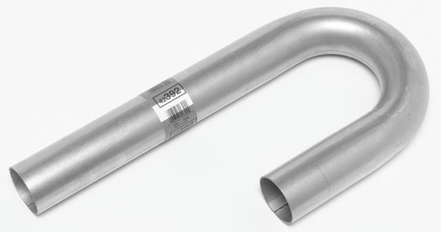 2.5in Aluminized J-Bend Pipe 3.5 Radius 16 Gauge