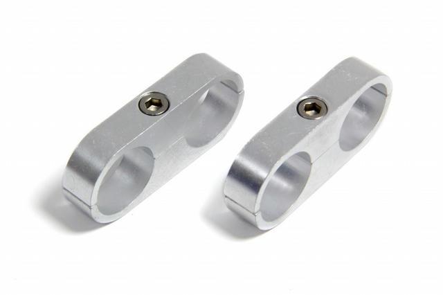 1in. Polished Alum. Hose/Tube Separator(2pk)