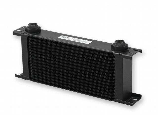 Ultrapro Oil Cooler - 16 Row - Black Finish