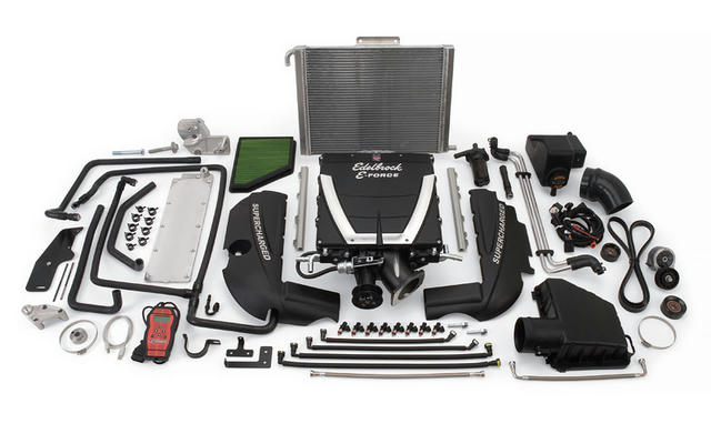 E-Force Supercharger Kit Camaro V8 10-14 w/Auto