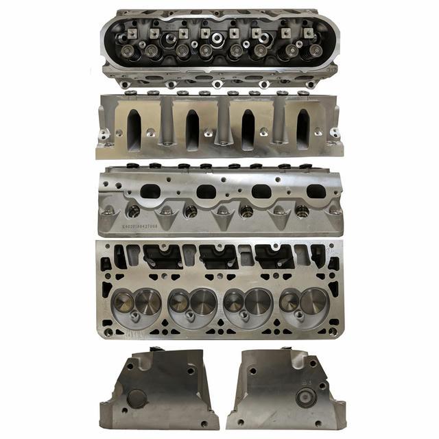 GM LS 6.0L Cylinder Head 69cc Cathedral Port