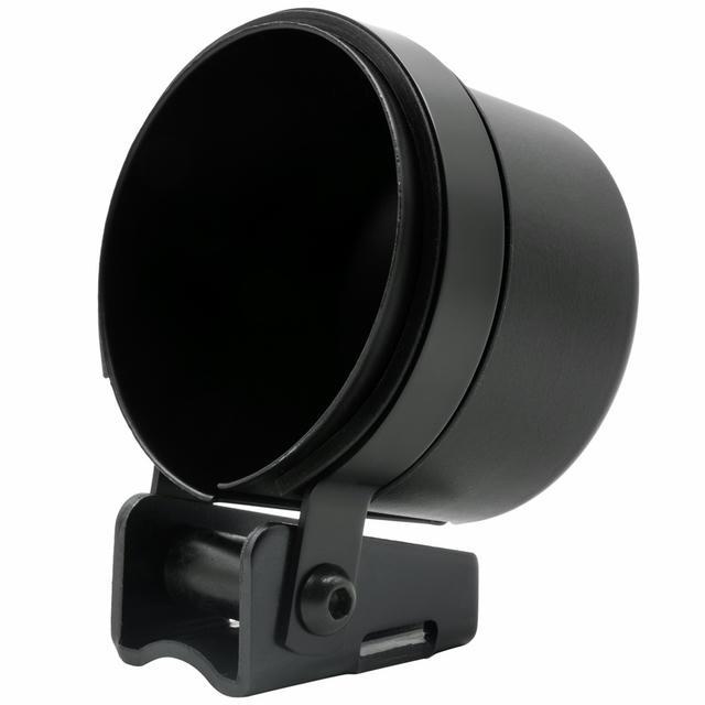 Gauge Mount Cup 2-5/8 Black Single