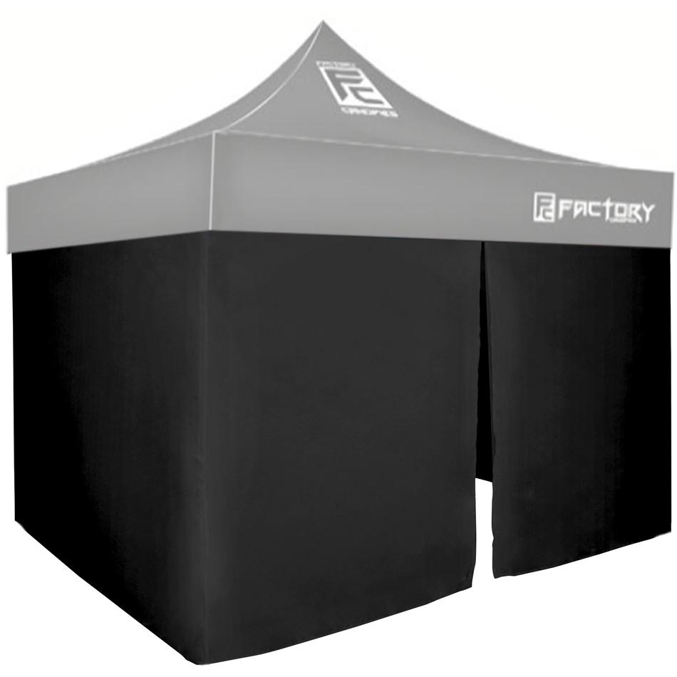 Wall Kit Black 10ft x 10ft Canopy