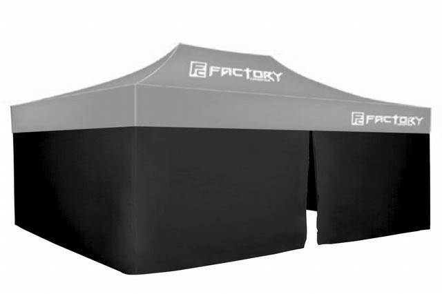 Wall Kit Black 10ft x 20ft Canopy