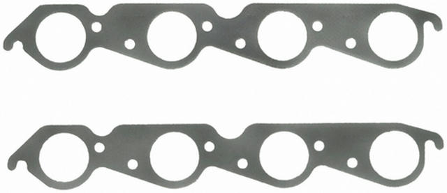 BB Chevy Exhaust Gaskets ROUND LARGE RACE PORTS