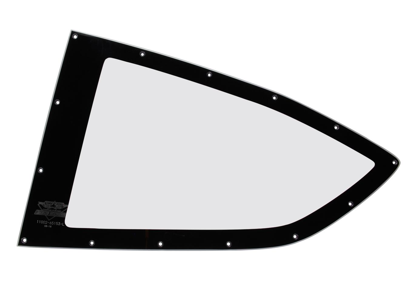 2019 LM Qtr Window Left Cut Drilled W/Blackout