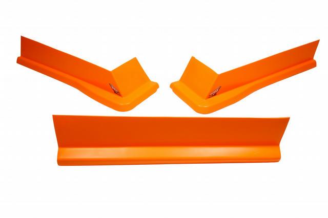Modified Aero Valance 3pc. Fluorescent Orange