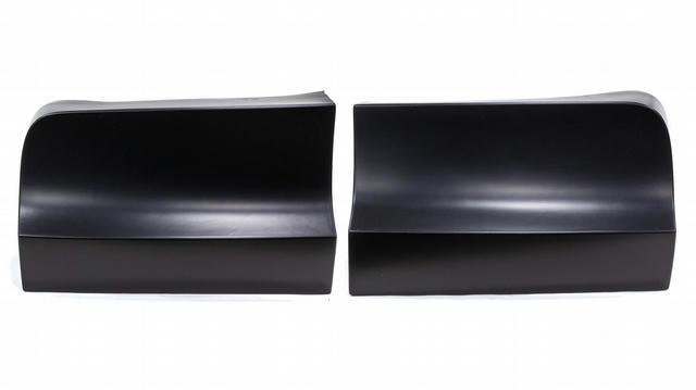 ABC Rear Bumper Cover Plastic Black