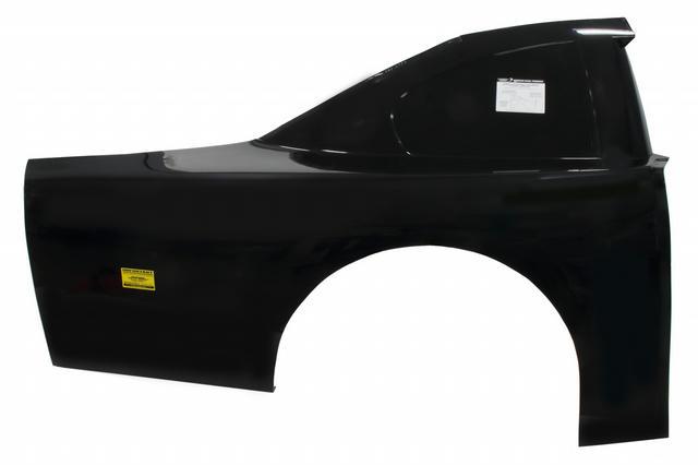 ABC Trad Roof Qtr Panel Ultraglass Black Right
