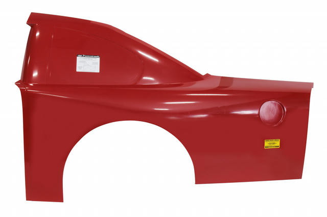 ABC Trad Roof Qtr Panel Ultraglass Red Left