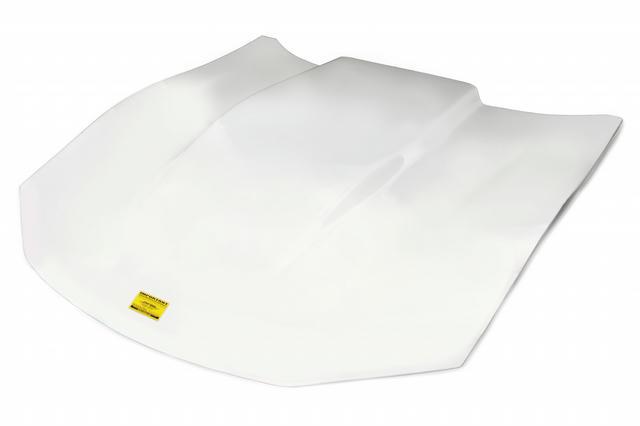 Composite Hood White 2.5in Scoop