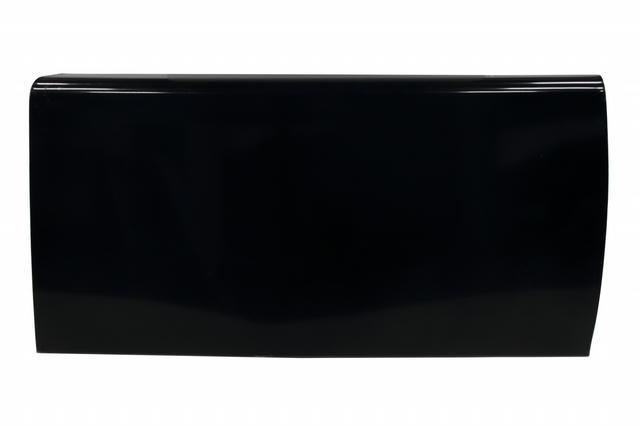 Door Right Aluminum Black Extra Long