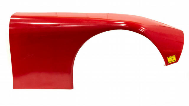 ABC Ultraglass Fender Wide Right Red