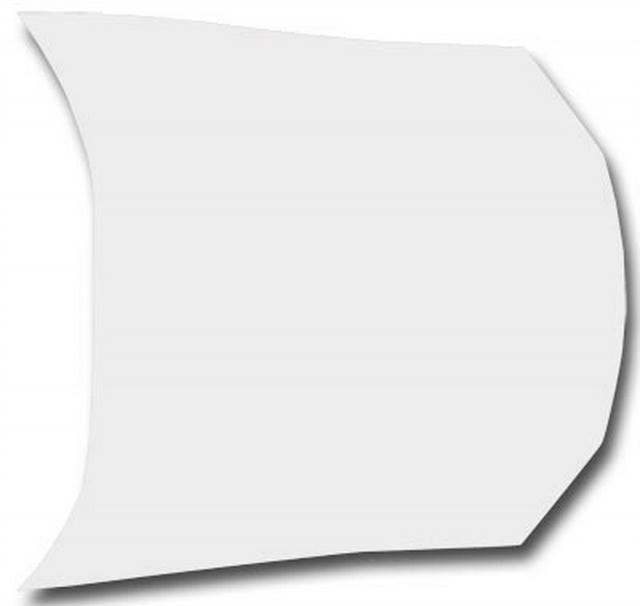 S2 Sportsman Hood Flat Composite White