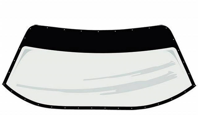 S2 Windshield Pre-Cut and Drilled w/ Blackout