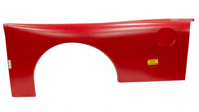 Quarter Panel Plastic Red Left