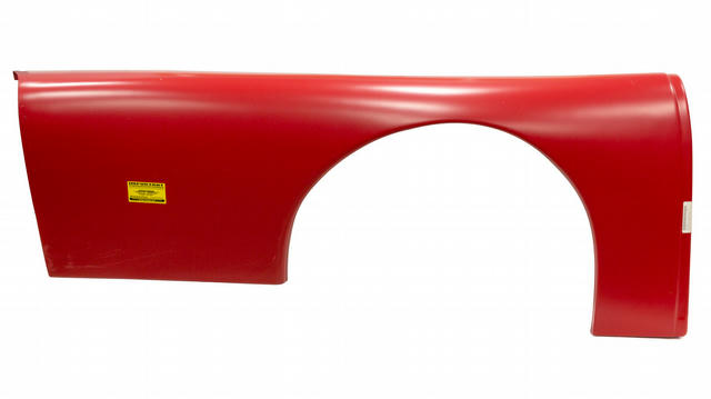 Quarter Panel Plastic Red Right