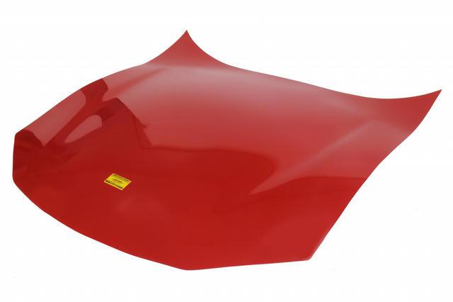 ABC Lightweight F/G Hood Flat Red