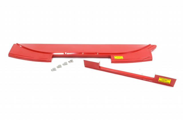 Cowl Panel Windshield Red