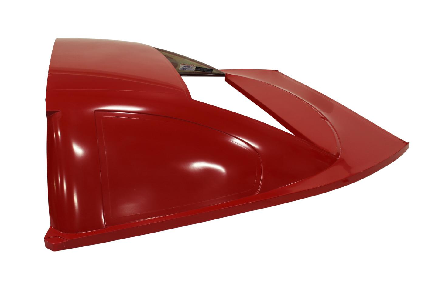 Roof Rear Greenhouse ABC L/W Fiberglass Red