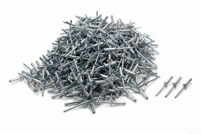 Small Head Rivet Silver 500pc 3/16in