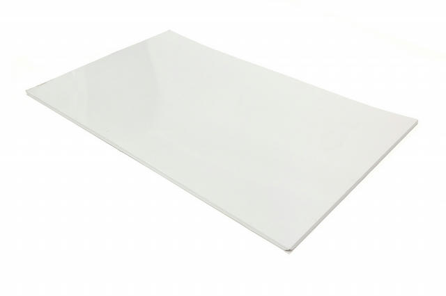 2020 Truck Bed Cover Center White Alum