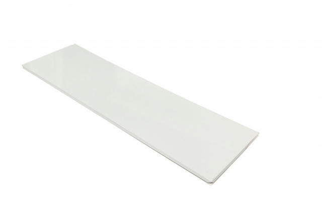 2020 Truck Bed Cover Rear White Alum
