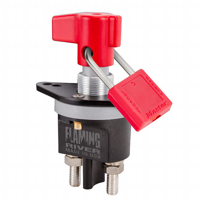 The Big Switch 500 Lock Out Hole With Lever Hand