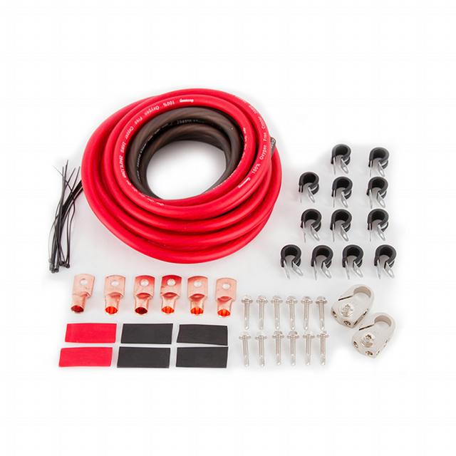 Battery Relocation Kit 2 gauge w/ copper lugs