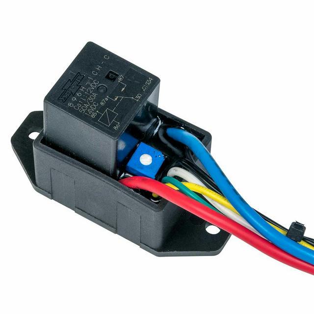 Electric Fan Controllerw /Relay Push-In Probe