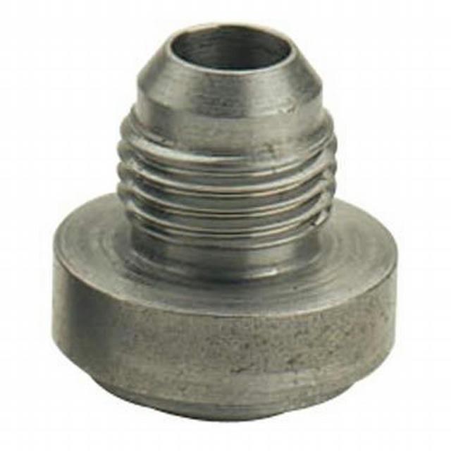 #12 Male Weld Bung Steel
