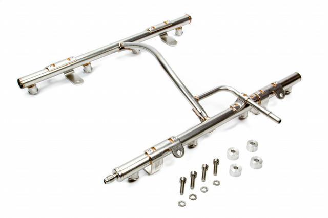 LSXr OE Fuel Rail Kit - LS2 Style for LS1/LS6