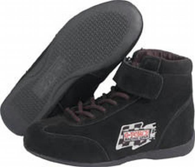 GF235 RaceGrip Mid-Top Shoes Black Size 9