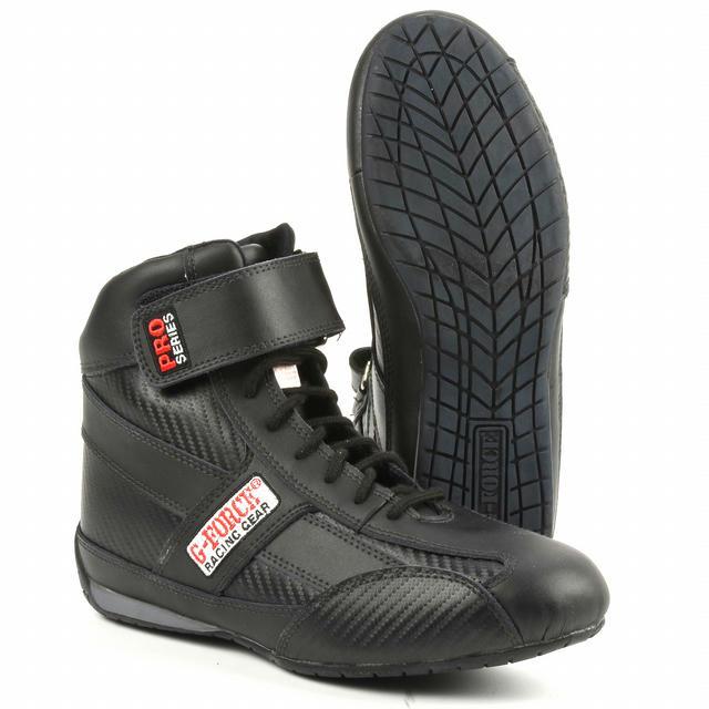 GF236 Pro Series Racing Shoe Black Size 6