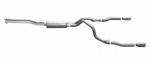 14-  GM P/U 5.3L CC/LB Cat Back Exhaust Alum.
