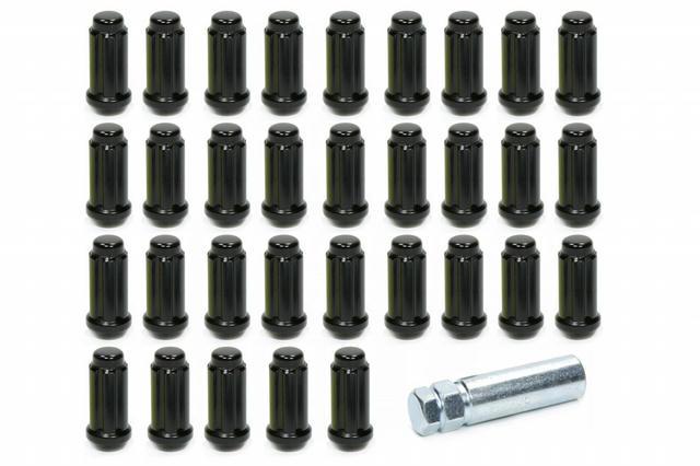 14mm x 1.50 8 Lug Kit Black