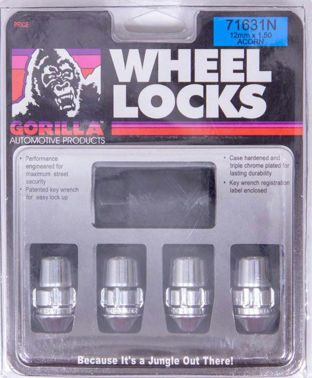 Wheel Lock 14MM x 1.50 Conical (4)