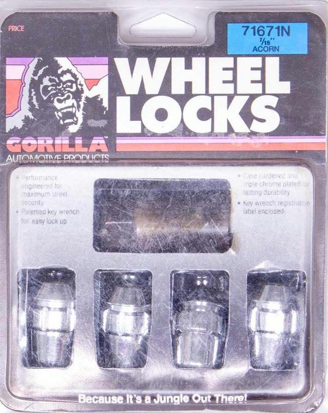 Wheel Lock 1/2 Acorn (4)