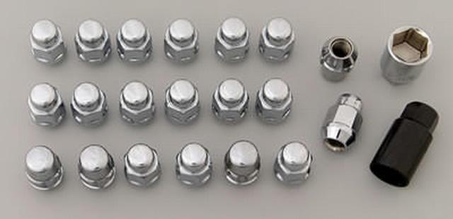Lug Nut and Lock System 12mmx1.50 Acorn Bulge