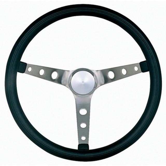 Classic Nostalgia 15in Black Steering Wheel