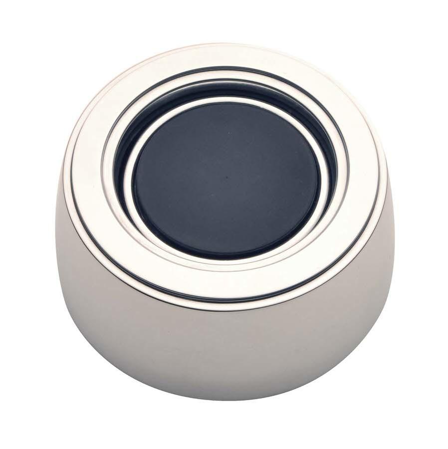 GT3 Horn Button Plain Black Hi-Rise