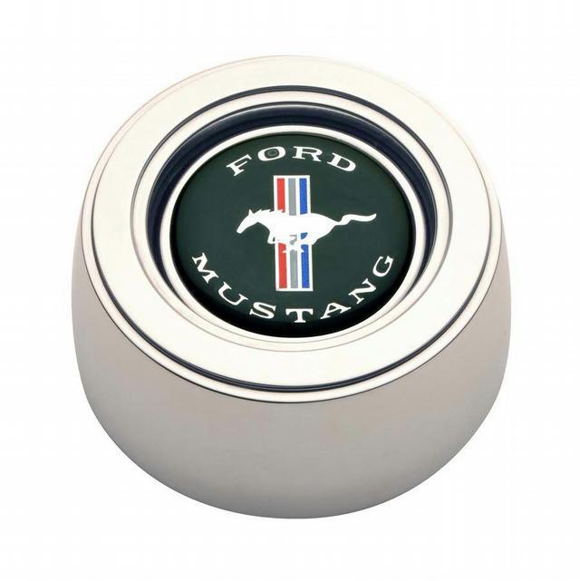 GT3 Horn Button Mustang Hi-Rise Emblem