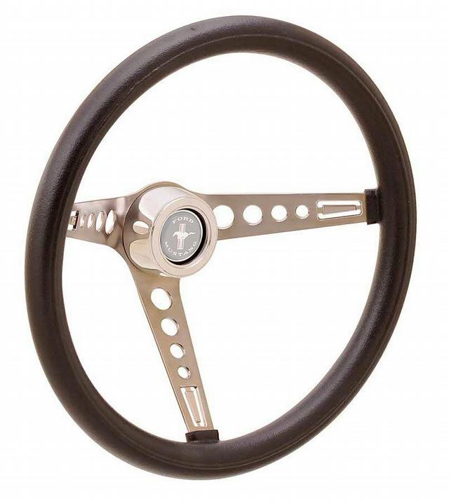 Steering Wheel GT3 Retro Mustang Foam